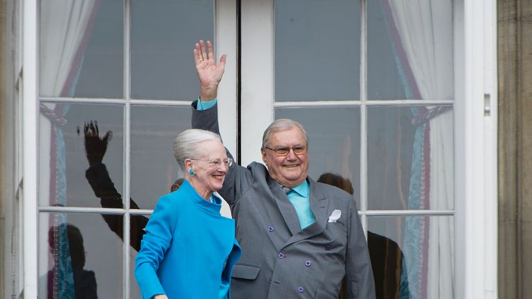 Prince Henrik renounced the title of prince consort