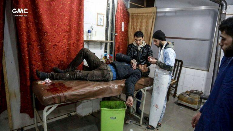 syria damascus ghouta