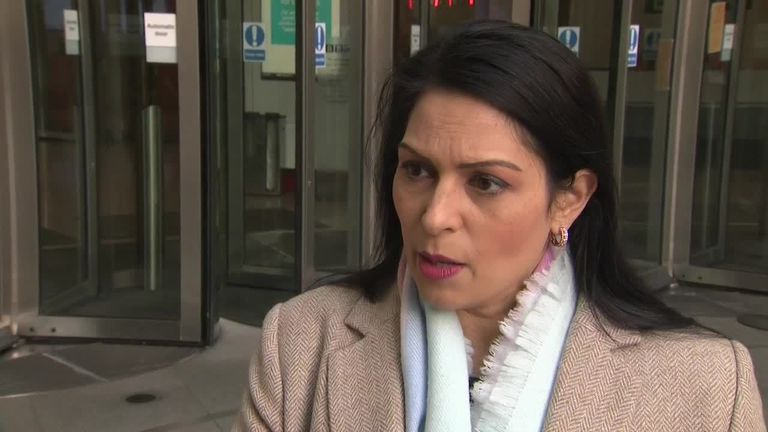 Former International Development Secretary Priti Patel MP