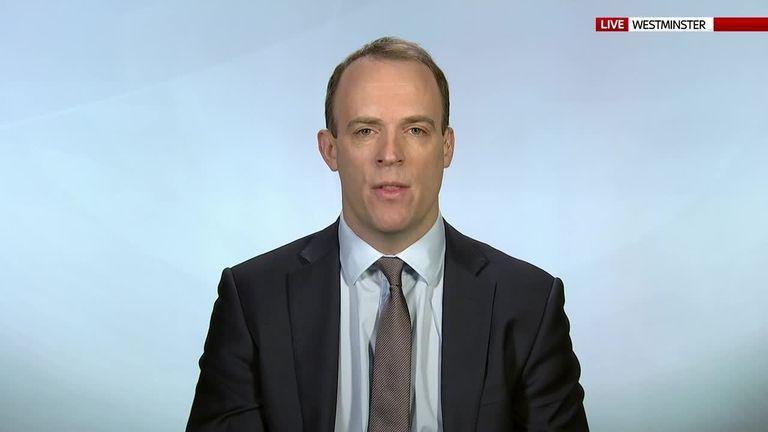 Raab: 'Most Tory MPs back the PM'