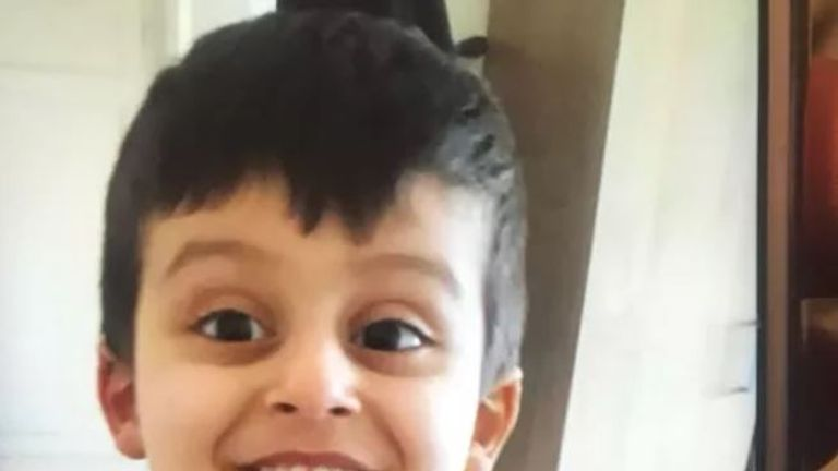 Boy, three, found safe after going missing in shopping centre | UK