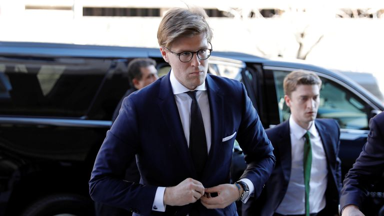 Alex Van Der Zwaan admitted he lied to the FBI about his interactions with Rick Gates