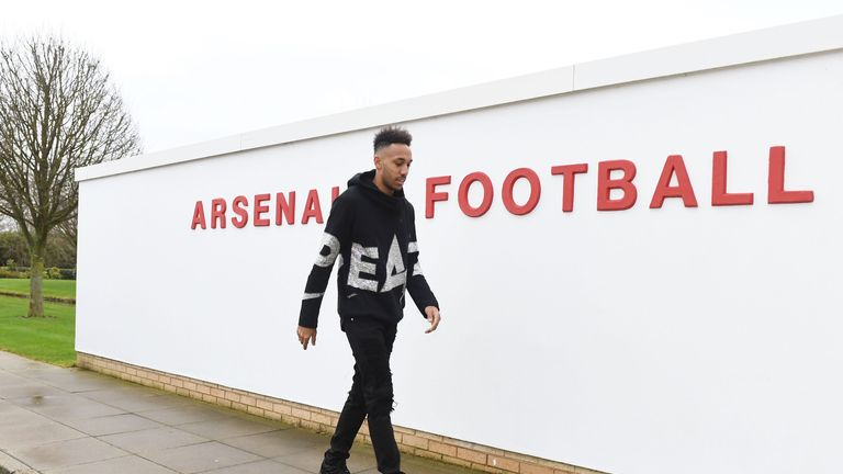 Aubameyang will replace Alexis Sanchez, who moved to Manchester United