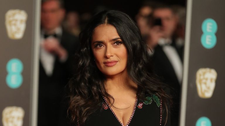 Salma Hayek is an advocate of women's rights