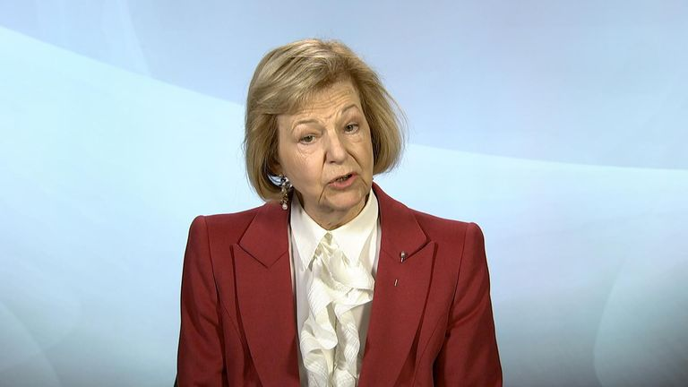 Baroness Nicholson says aid agencies need to be monitored