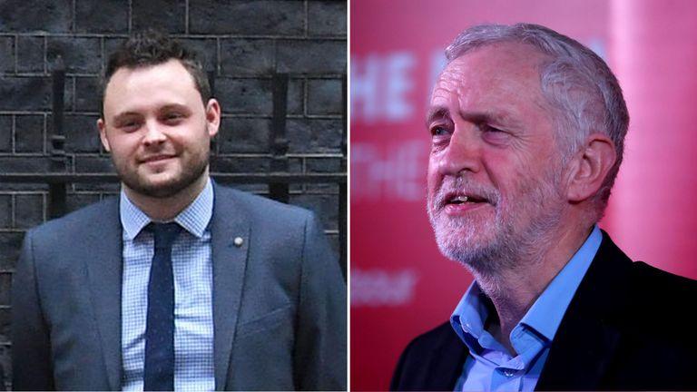 Ben Bradley and Jeremy Corbyn