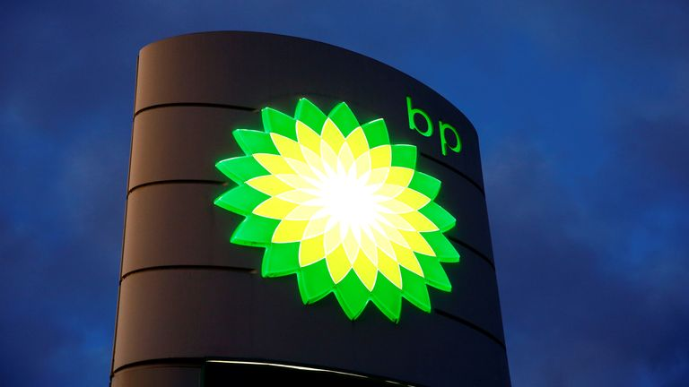 BP profits fall amid oil price weakness | Business News | Sky News