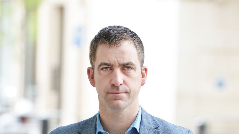 Brendan Cox, widower of MP Jo Cox