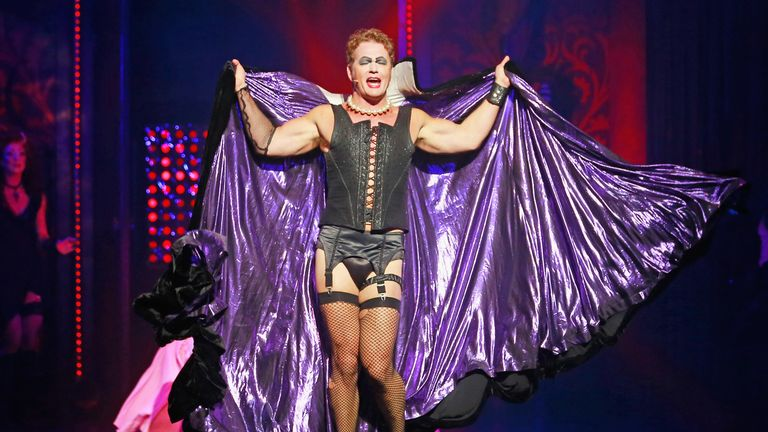 McLachlan appears in The Rocky Horror Show in Melbourne in 2015