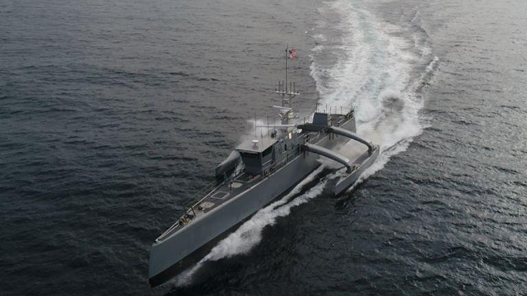 DARPA's 'Sea Hunter' submarine-tracking vehicle