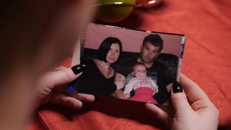 The couple's daughter Althea was four years old when David was killed