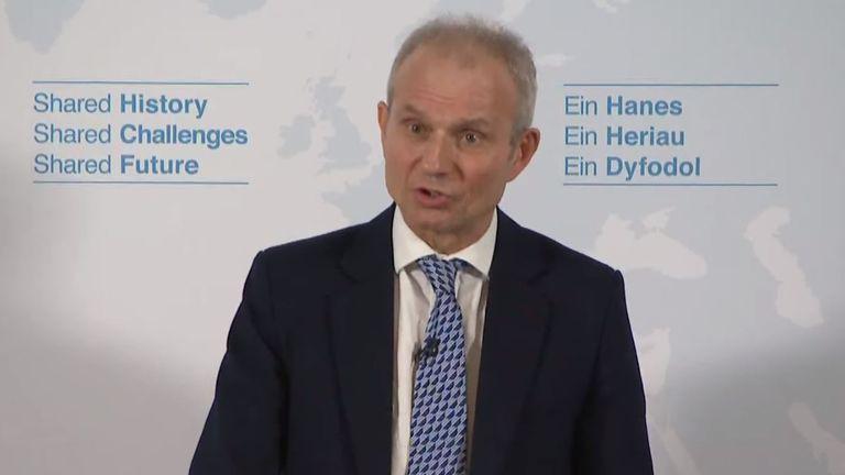 Cabinet Office minister David Lidington