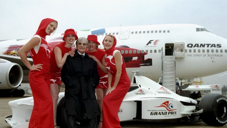 Bernie Ecclestone said the girls were not harming anyone