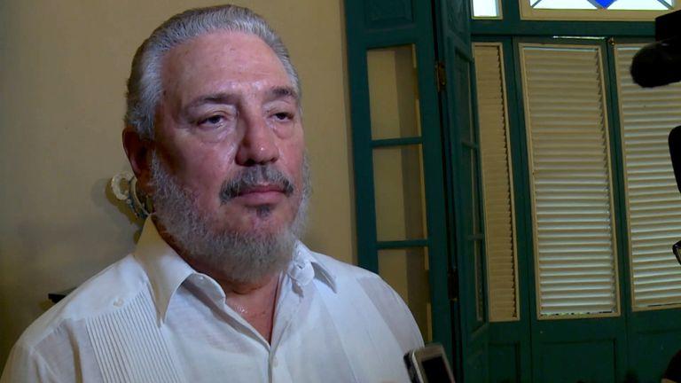 Fidel Castro Diaz-Balart was Fidel Castro's eldest son