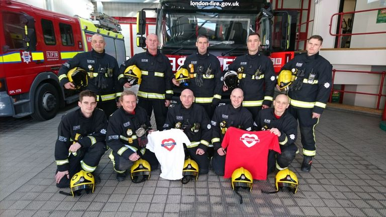 North Kensington crews were the first at the Grenfell Tower fire