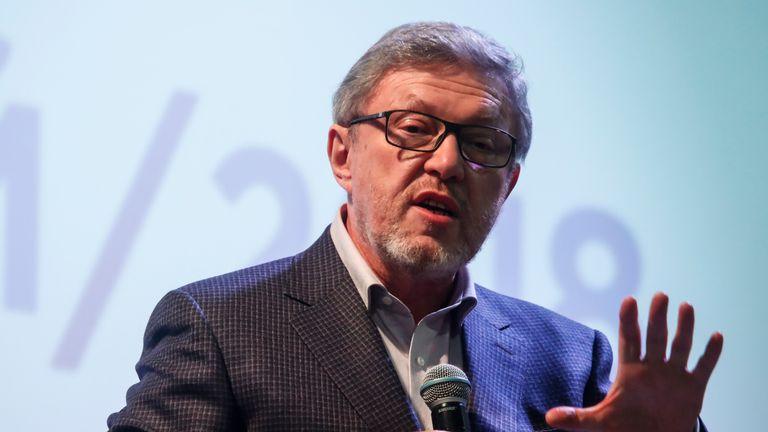 Grigory Yavlinsky has run against Mr Putin before