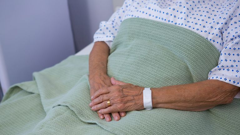 A hospital bed can become a prison for terminally ill patients