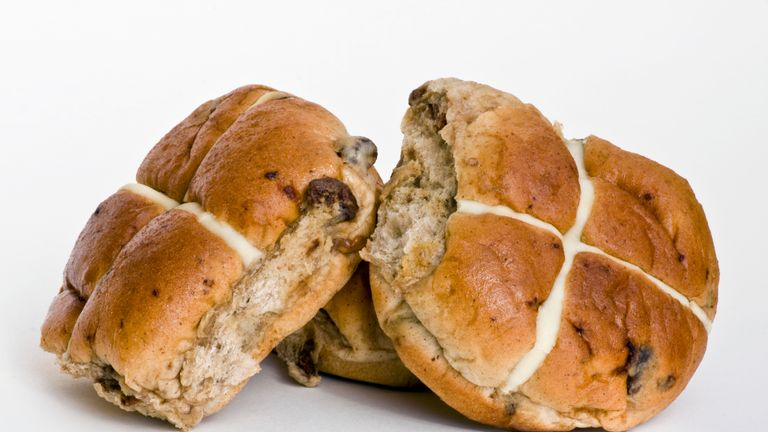 Some producers are using alternative ingredients for hot cross buns