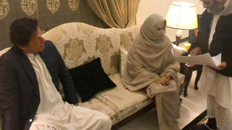 The former cricketer turned politician has married Bushra Maneka, a faith healer