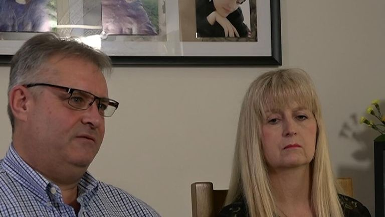 Bethany Shipsey's parents - Doug and Carole, speak to Sky News about the 'unacceptable' death of their daughter