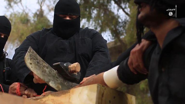 From ISIS propaganda video