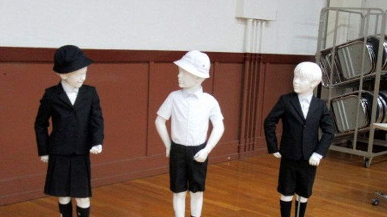 The designer Italian outfits were intended to be positive branding for the school