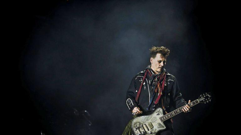 Johnny Depp. Pic:  Mario Cruz/Epa/REX/Shutterstock