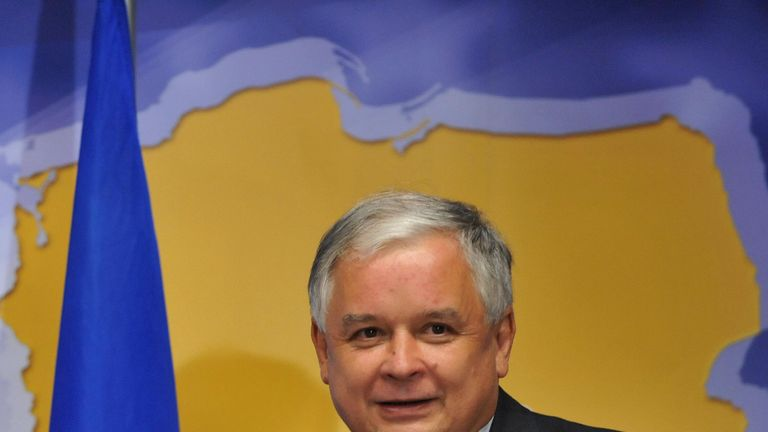Polish President Lech Kaczynski was among those killed in the crash