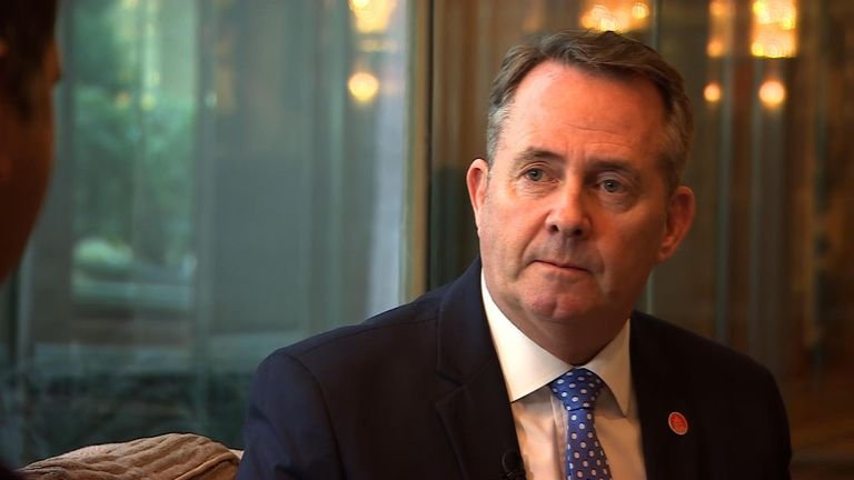Liam Fox says post-Brexit trade deals are some time away