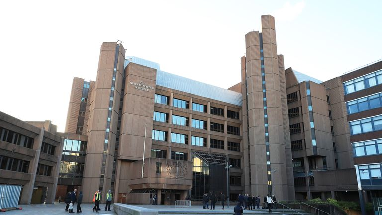 A general view of Liverpool Crown Court