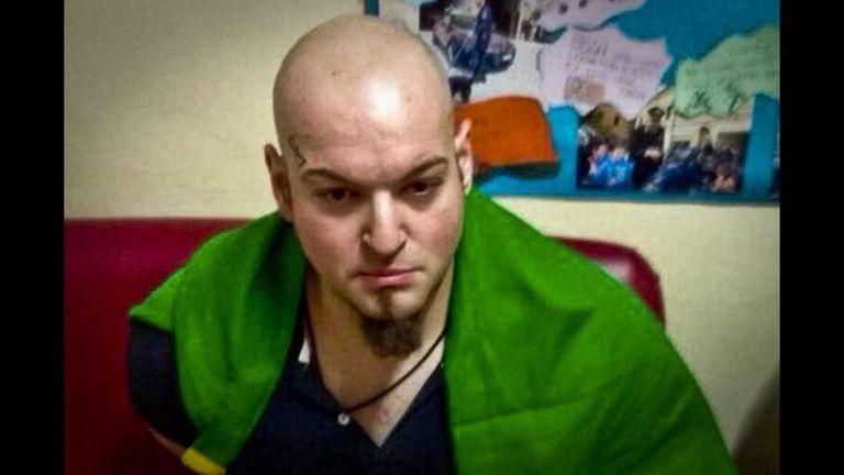 Suspected gunman Luca Traini