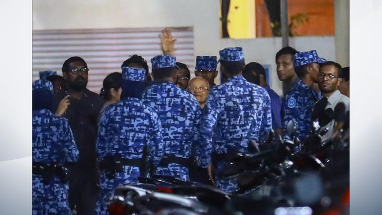 The opposition leader and two senior judges were arrested