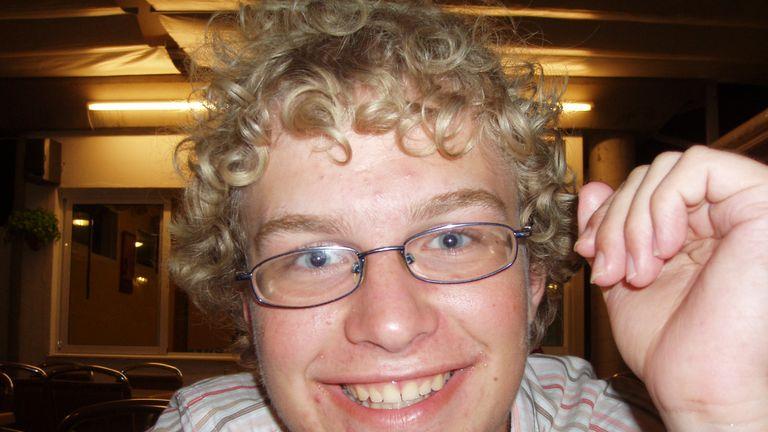 Falder had been a star student at Cambridge University