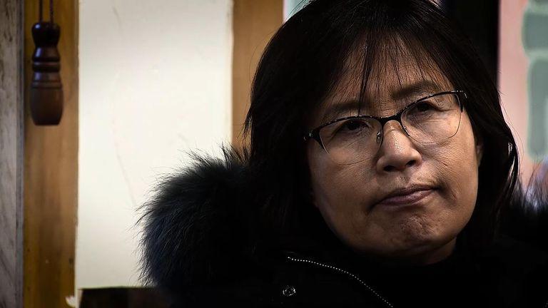 Lee Ae-ran escaped North Korea more than two decades ago