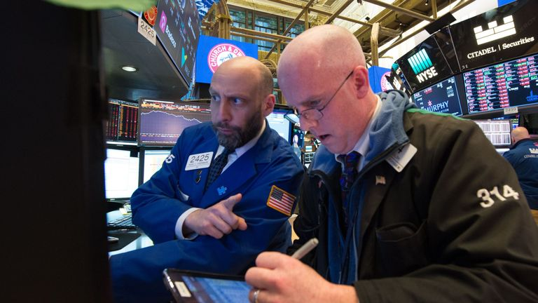 There were nerves in New York ahead of the US market open