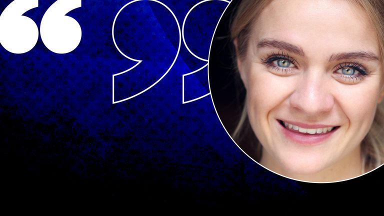 Elle McAlpine is an actor