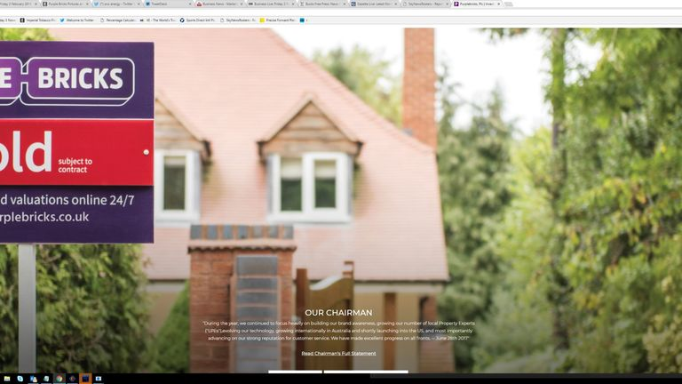 Purplebricks offers a different model to the traditional house sale process. Pic: Purplebricks
