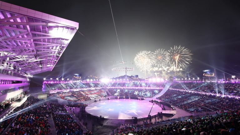 Winter Olympics in Pyeongchang