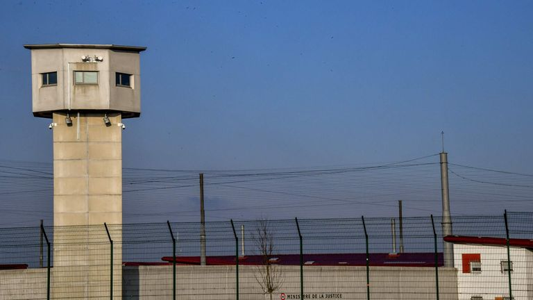 Abdeslam is being held in solitary confinement at this prison in northern France