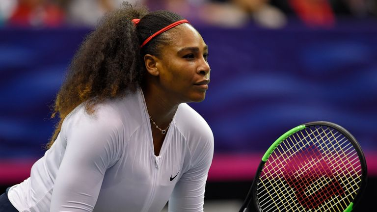 Despite her break, Williams is still ranked 22 in the world