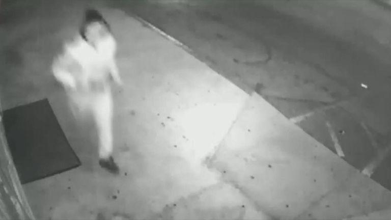 CCTV captured the killer around Las Vegas. Pic: LVMPD