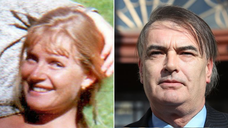 Ian Bailey, who is accused of the murder of Sophie Toscan du Plantier in Ireland