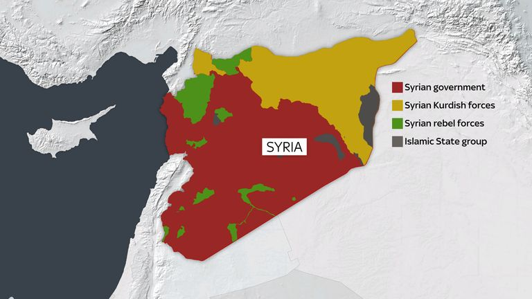 Islamic State's collapse has complicated Syria's civil war further