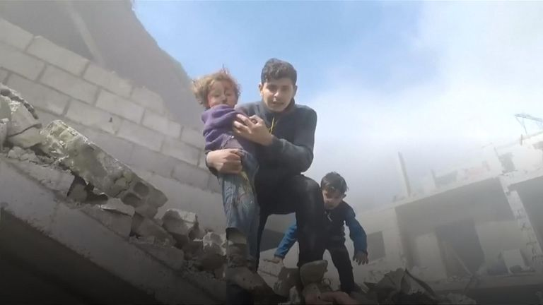 Eastern Ghouta has been under heavy bombardment for several days by Assad and his allies, causing hundreds of deaths and injuries.