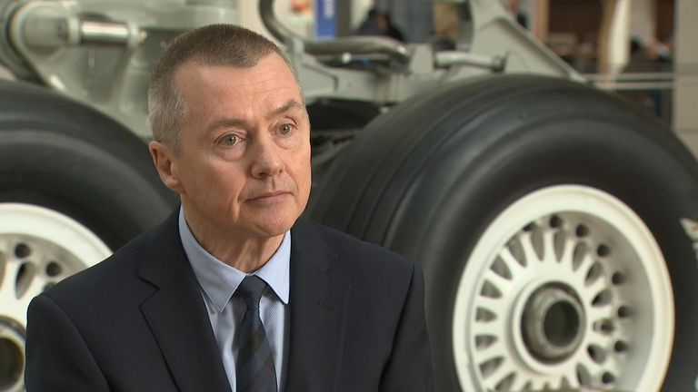 Willie Walsh is chief executive of IAG