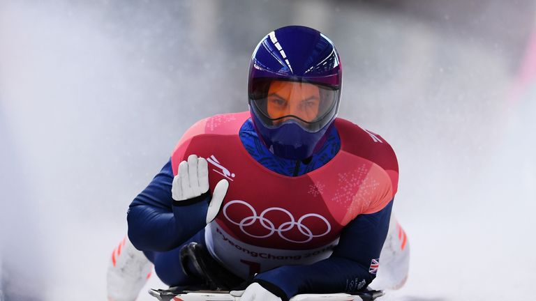 Dom Parsons won bronze in the men's skeleton in Pyeongchang the first since 1948