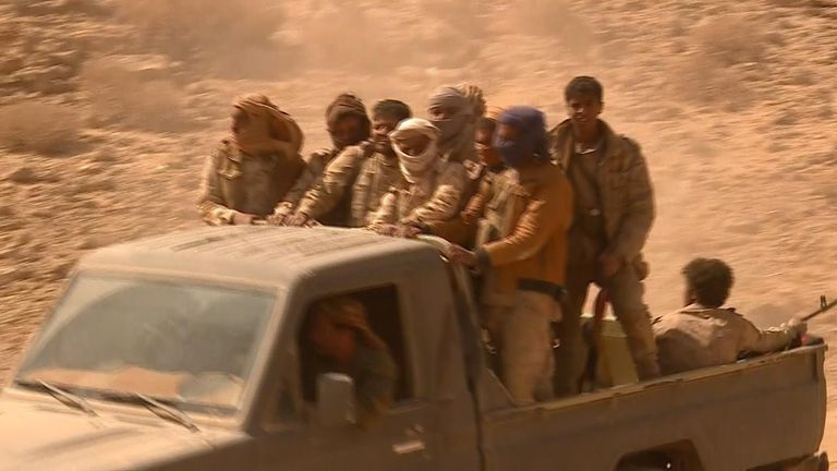 Yemeni government forces are moving closer to Sana'a every day, one commander said