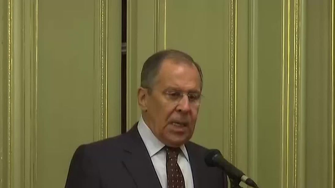 Sergei Lavrov speaks about Salisbury poisoning