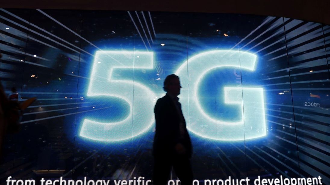 The Government wants the UK to be a 'world leader' in 5G