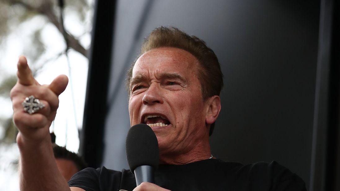 Schwarzenegger stable after emergency open-heart surgery